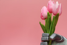 The Robot Gives Flowers. The R...