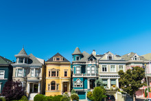 Painted Ladies Houses Of San F...
