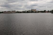 Blick über Den Spandauer See ...