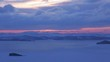 Baikal. Winter. Severe Siberian landscape. The nature of Siberia. Early morning.