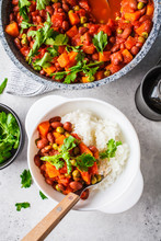 Vegan Bean Stew With Tomatoes ...