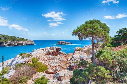 Foto Mittelmeerküste bei Cala d'Or