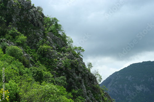 Photo Pente abrupte au-dessus de Kotor