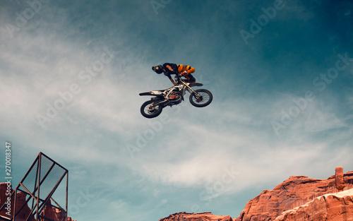 Cadres-photo bureau Motorise Moto freestyle