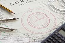 Shetland Nautical Chart Map
