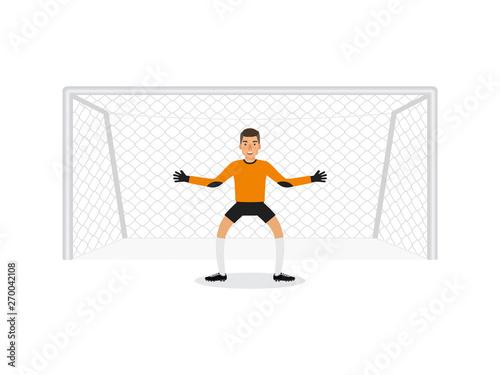 goalkeeper Fototapete