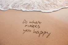 Do What Makes You Happy, Inspi...