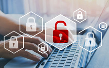 Hacker Attack And Data Breach,...