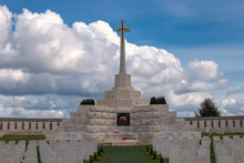 Tyne Cot Cemetery Is Located Near Ypres In Belgium And Is The Largest British Military Cemetery In The World
