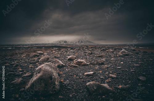 Keuken foto achterwand Kust The Dark Iceland