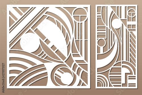 Laser cut panel Fototapete