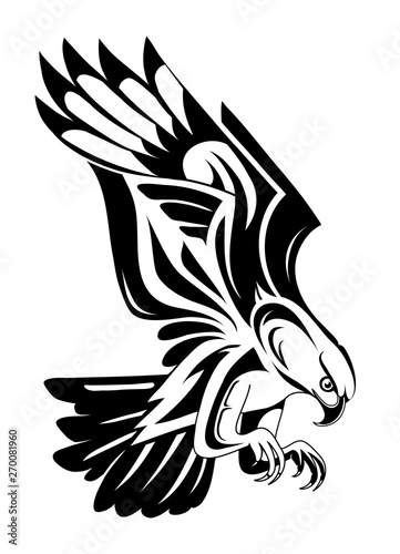 Photo Eagle tattoo shape