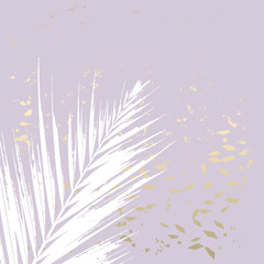 Fototapeta Minimalistyczny trendy blush pink gold feminine pastel texture background