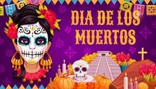 Dia De Los Muertos Mexican Religious Day Of Dead