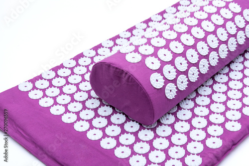 Acupressure Mat and Pillow Set for Back and Neck Pain Relief and Muscle Relaxation Wallpaper Mural