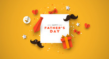 Fathers Day Card Of Frame With...