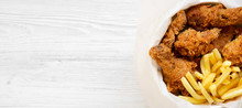 Fast Food: Fried Chicken Legs,...