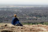 woman viewing vista