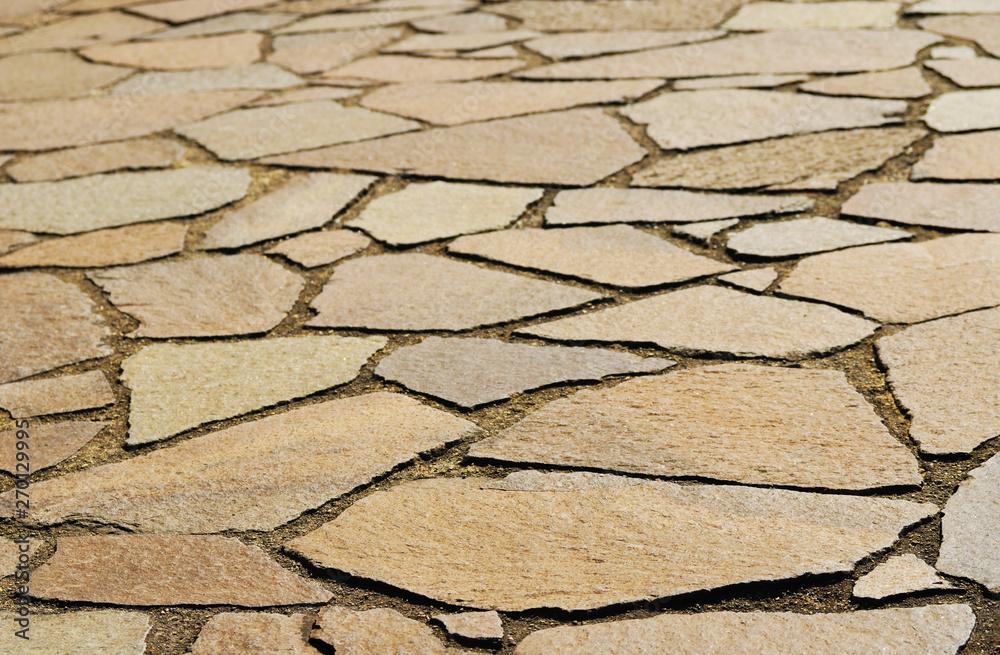 Fototapety, obrazy: 石畳 素材