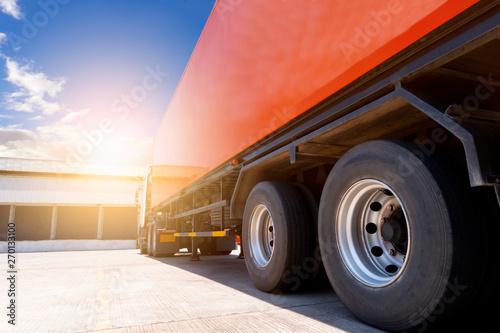 Obraz na plátně  truck transportation