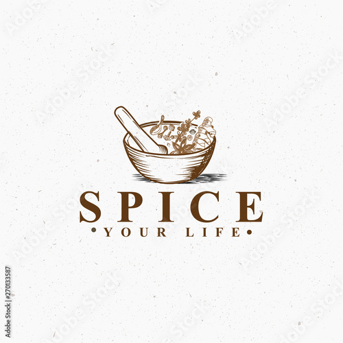 Fotomural Spice medical cross logo vector