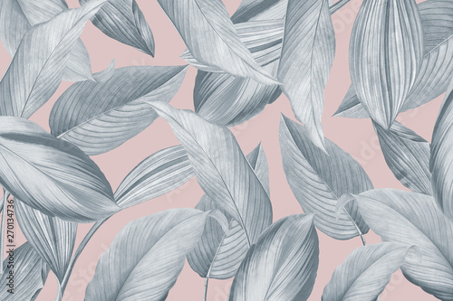 Poster Graphic Prints Tropical foliage background