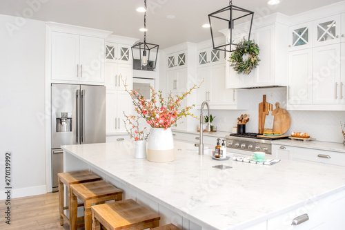Fotografia A Modern Farmhouse Kitchen