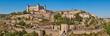 Leinwanddruck Bild - Toledo medieval city panoramic view. Spanish traditional old town