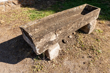 Ancient Roman Sarcophagus In O...