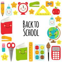 Cute Back To School Frame Desi...