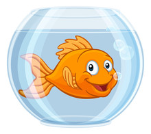 A Goldfish In A Gold Fish Bowl...