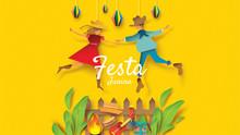 Festa Junina Festival Design O...