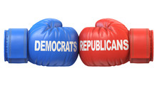 Democrats Vs. Republicans. Two...