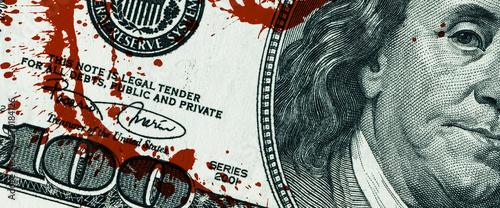 Fotografie, Tablou  Blood Money