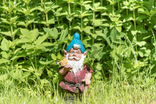 The Figure Of A Garden Gnome I...