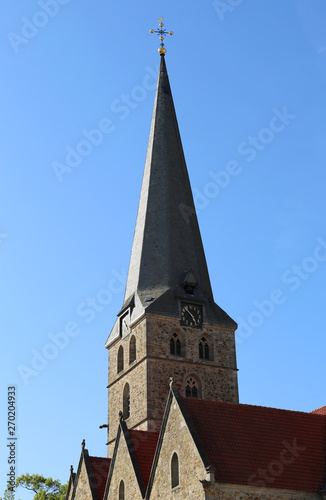 Bell Tower of St. Johannis Church in Herford,Germany