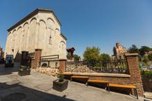 The Stone Church Of Forty Martyrs Of Sebaste, Located In Abanotubani Neighborhood Of Tbilisi, Georgia