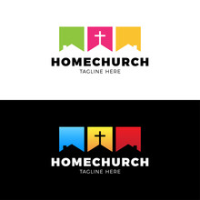 Template Christian Logo, Emble...