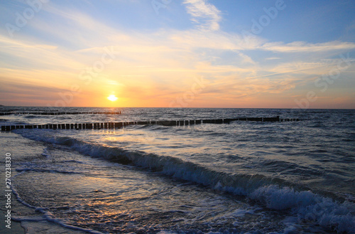 Coastline,North Sea, Schleswig-Holstein, Germany
