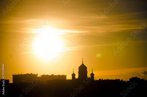 Poster Rome закат