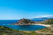 Landscape of the coast near Porticciolo
