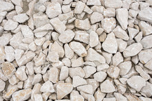 Close Up Of Pile Of Limestone ...