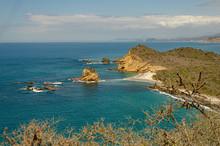 Beaches Of Ecuador At The Heig...