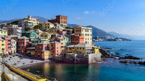 Fotografia  Boccadasse, old maritime village in Genoa