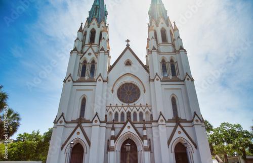 Fotografia The Old Saint Johns Church in Savannah, Georgia
