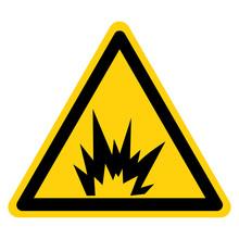 Arc Flash Hazard Symbol Sign I...
