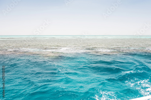 Leinwand Poster  Red sea White Island Sea Seashore Sharm el Sheikh, Africa Egypt.