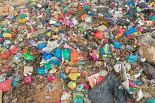 Plastic Pollution Crisis. Garbage Sent To Malaysia For Recycling Is Instead Dumped In A Huge Landfill