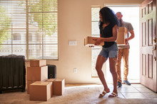 Interracial Couple Moving Into...