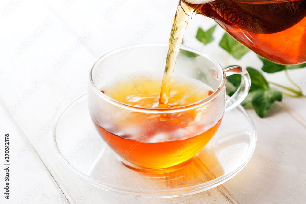Fototapety, obrazy: 紅茶 Black tea